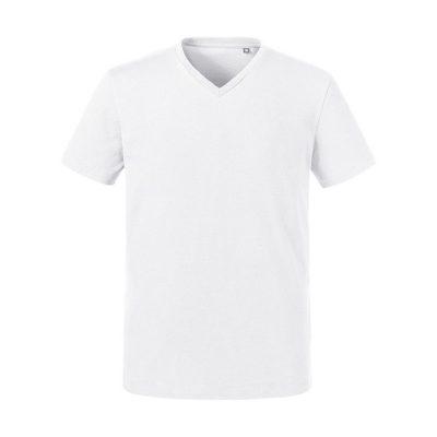 "Moška T-shirt majica – ""Pure Organic"" – ""V"" izrez"