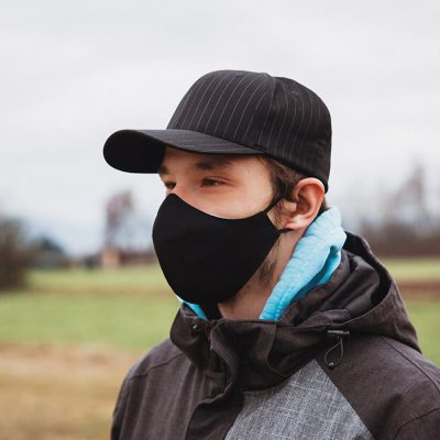 Higienska maska obojestranska – pralna – moška BW M