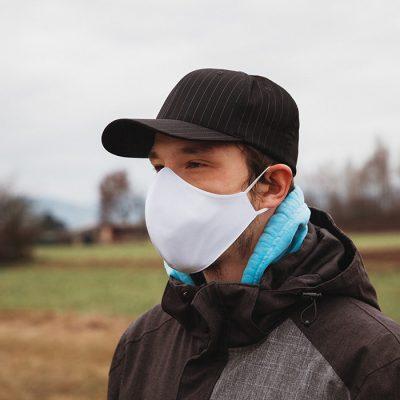 Higienska maska obojestranska – pralna – moška WHITY M